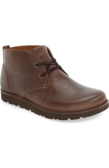 Brown Leather Harris Boots