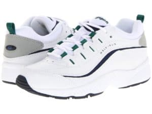white walking shoes comfortable