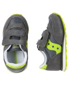 gray citron suede shoes for kids