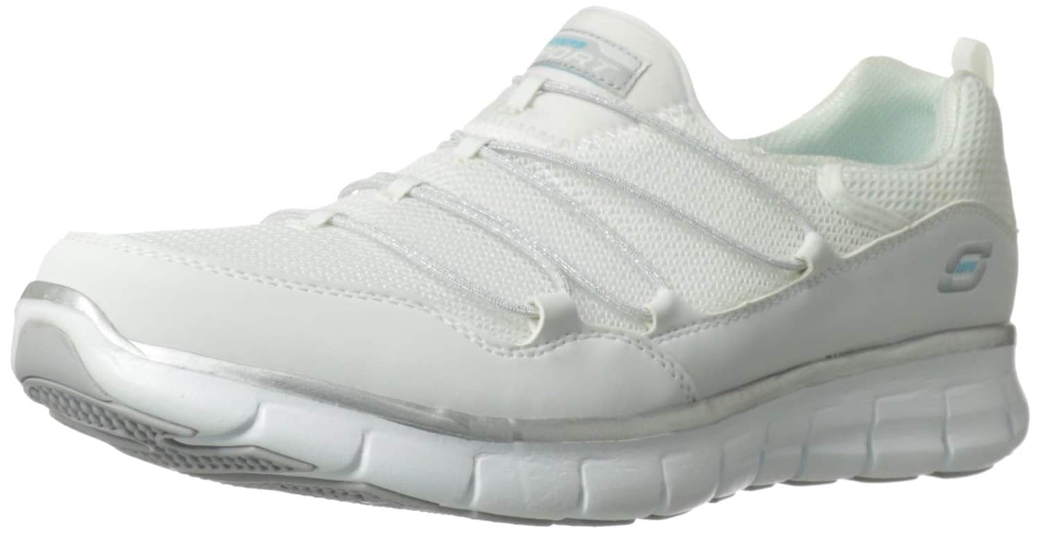 Skechers Memory Foam Shoes For Women White