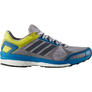 adidas yellow blue with black stripes rubber shoes