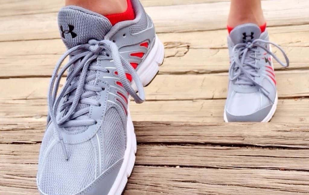running shoes for fitness and a healthy lifestyle