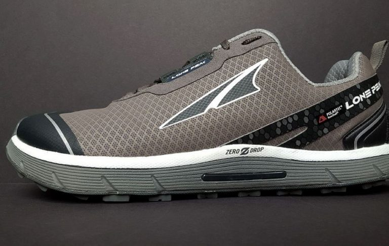 Altra trail running shoe